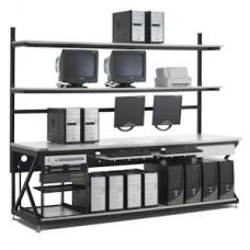 """KENDALL HOWARD - 5000-3-200-96 - 96"""" Performance Work Bench W/Full Bottom Shelf"""
