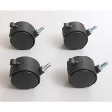 KENDALL HOWARD - 5500-3-100-03 - Advanced Classroom Training Table Locking Caster Kit