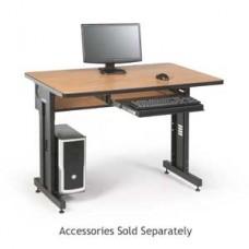 "KENDALL HOWARD - 5500-3-002-34 - 48"" Advanced Classroom Training Table 48"" x 30"" - Caramel Apple"
