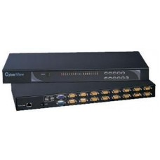 Austin Hughes CyberView - CV-1602 - Combo DB-15 Two Console 16-port KVM-2 Consoles