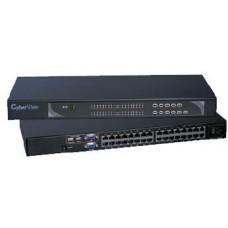 Austin Hughes CyberView - U-801 - Combo Cat6 8-port KVM-1 Consoles