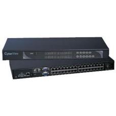 Austin Hughes CyberView - U-802 - Combo Cat6 Two Console 8-port KVM-2 Consoles