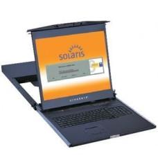 Austin Hughes CyberView - DS119-MIP1613e - 1U Dual Slide SUN LCD Keyboard Drawer-19
