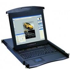 Austin Hughes CyberView - N117-801b - 1U LCD Keyboard Drawer-17