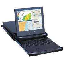 Austin Hughes CyberView - RKP219-MIP813e - 2U Dual Slide LCD Keyboard Drawer-19
