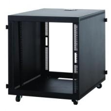 KENDALL HOWARD - 1932-3-201-12 - 12U Compact Series SOHO Server Rack (No Doors)