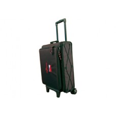 Gator Industrial Cases - GSRW-2U - Rolling Laptop Computer and 2-Space Rack Bag